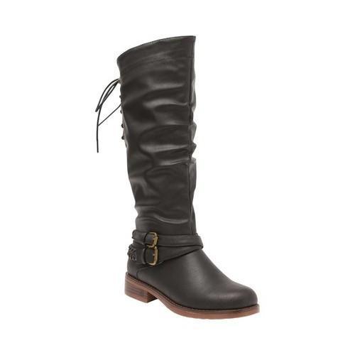 a1fd1c087 Shop Women's XOXO Marilia Riding Boot Black Polyurethane - Free Shipping  Today - Overstock - 18660864