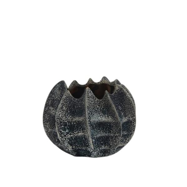 Old-Style Decorative Ceramic Vase, Gray