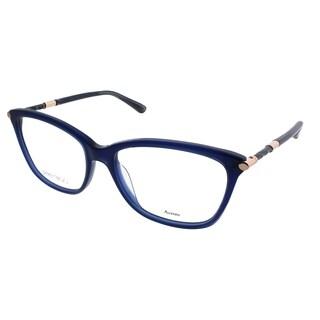 Jimmy Choo Rectangle JC 133 J5S Women Blue Frame Eyeglasses