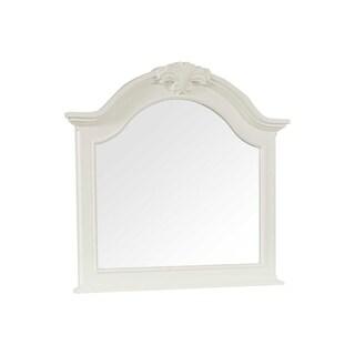 Broyhill Mirren Harbor Arched Dresser Mirror - White