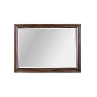 Broyhill Pike Place Picture Frame Mirror - Brown