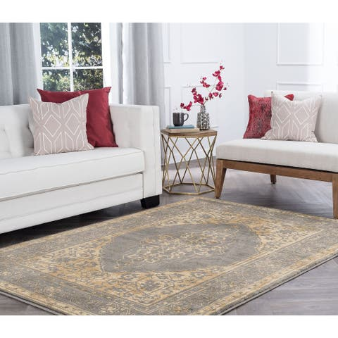 Alise Rugs Soho Transitional Border Scatter Mat Rug