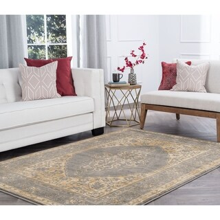 Alise Rugs Soho Transitional Border Area Rug - 8'9 x 12'3