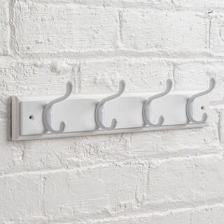 Wall Mounted Hat and Coat Hook Rack