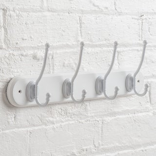 Wall Mounted Acorn Hat and Coat Hook Rack
