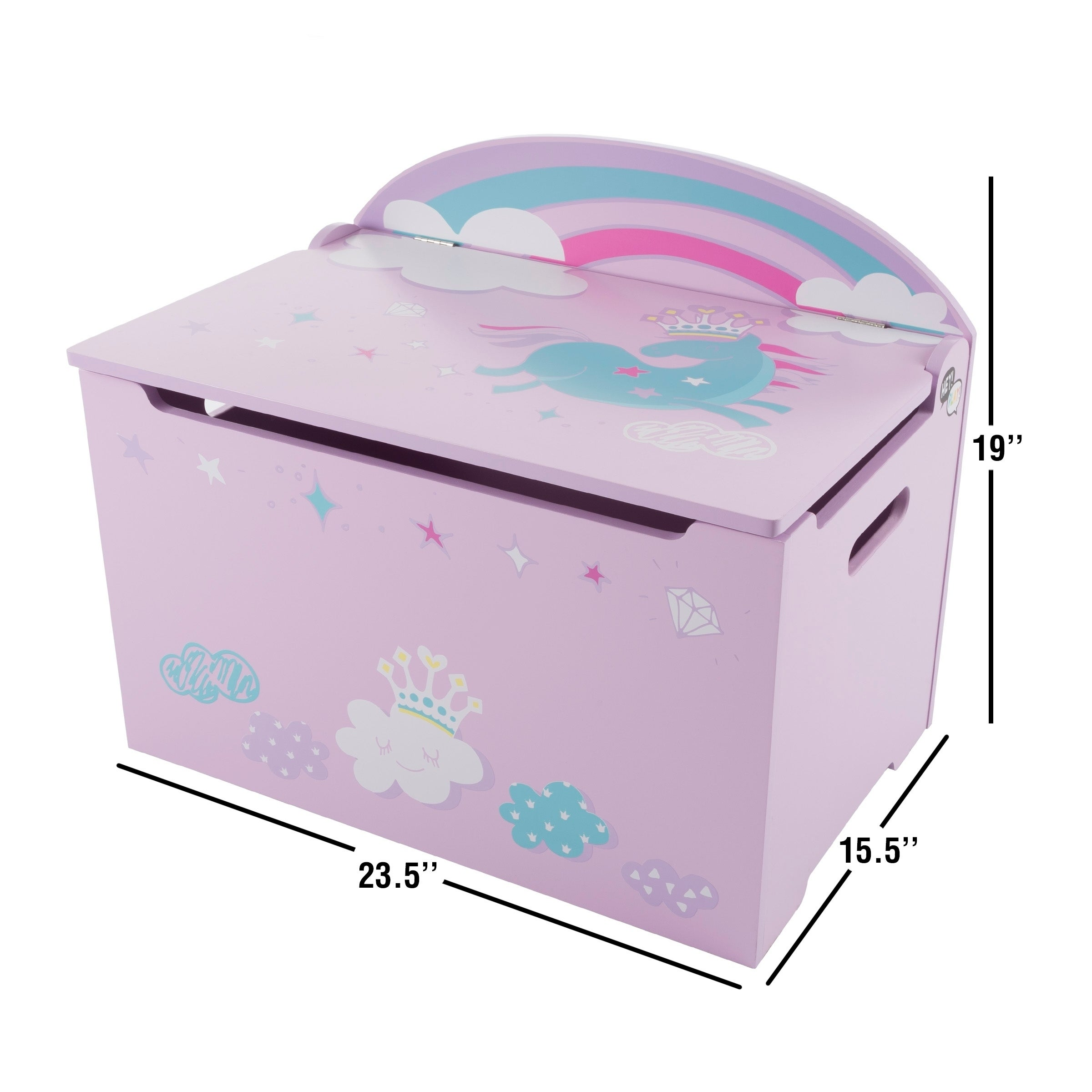 Kids Childrens Storage Toy Box Boys Girls Books Clothes Office Bedroom Playroom