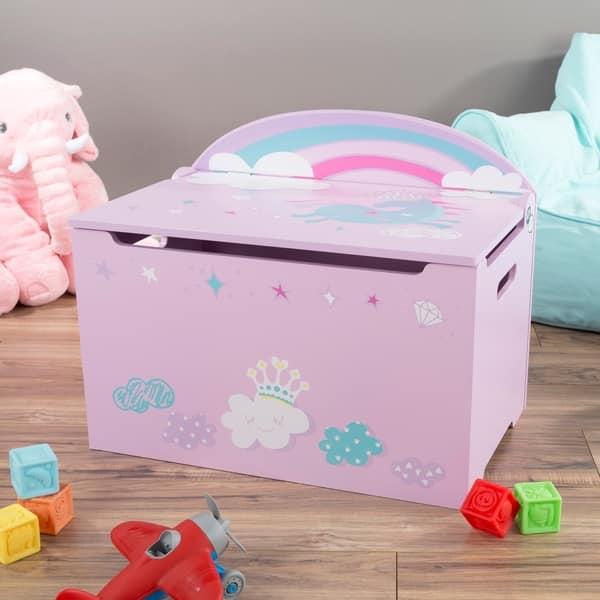 Shop Toy Box-Storage Bench Seat - Kids-Organization Chest ...