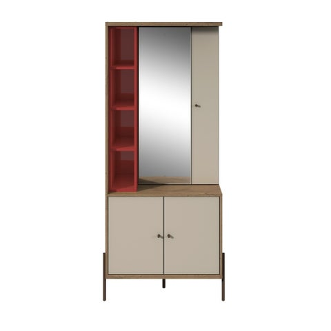 Joy Vanity Jewelry Armoire with Mirror