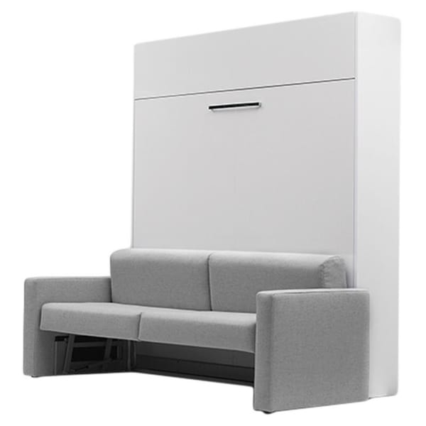 Shop Aladino Wall Bed With Sofa On Sale Free Shipping Today