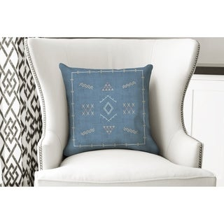 Marrakesh Kilim Indigo Accent Pillow By Kavka Designs