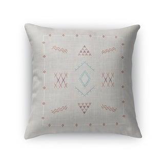 Marrakesh Kilim Light Grey Accent Pillow By Kavka Designs