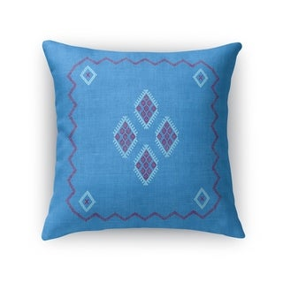 Kilim Indigo Accent Pillow By Kavka Designs
