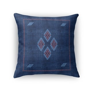 Kilim Navy Accent Pillow By Kavka Designs
