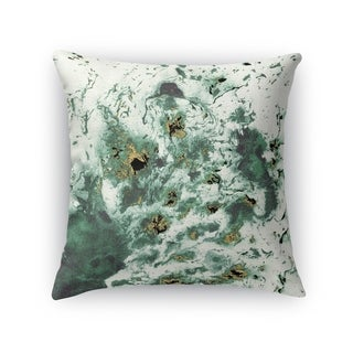 MARBLED GREEN Accent Pillow By Kavka Designs