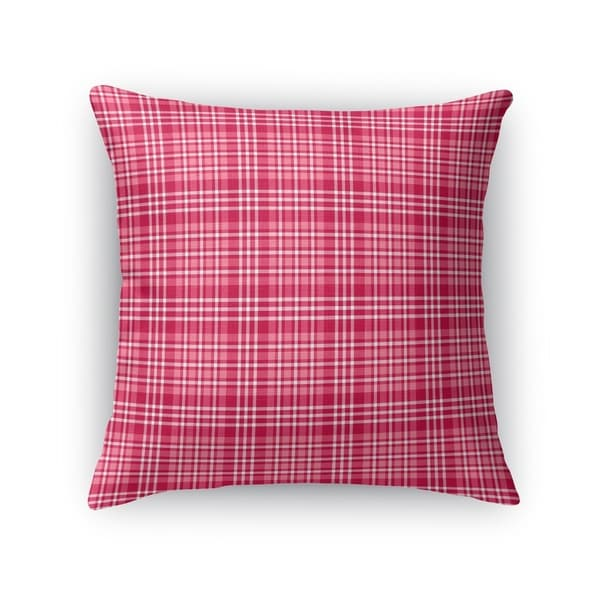 BE MINE 2 PLAID Accent Pillow By Kavka Designs