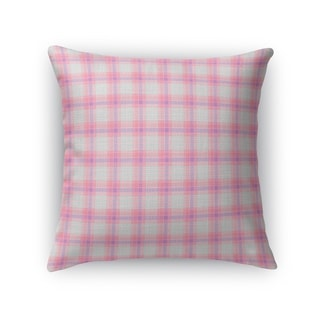 COFFEE DONUT 2 PLAID Accent Pillow By Kavka Designs