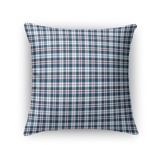 PLAID NAVY  Accent Pillow By Kavka Designs