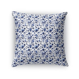 BOUQUET BUNCH BLUE Accent Pillow By Kavka Designs