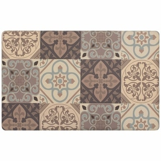 Chef Gear Kitchen Tile Collage Gelness Mat - 1'8 x 3'3