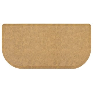 Chef Gear Clarance 20 x 39 in. Embossed Wedge Gelness Mat - 1'8 x 3'3
