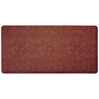 Chef Gear Marni 20 x 39 in. Embossed Gelness Mat - 1'8 x 3'3