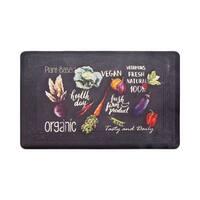 Chef Gear Tablet Border Healthy Living Gelness Mat - 1'8 x 2'8