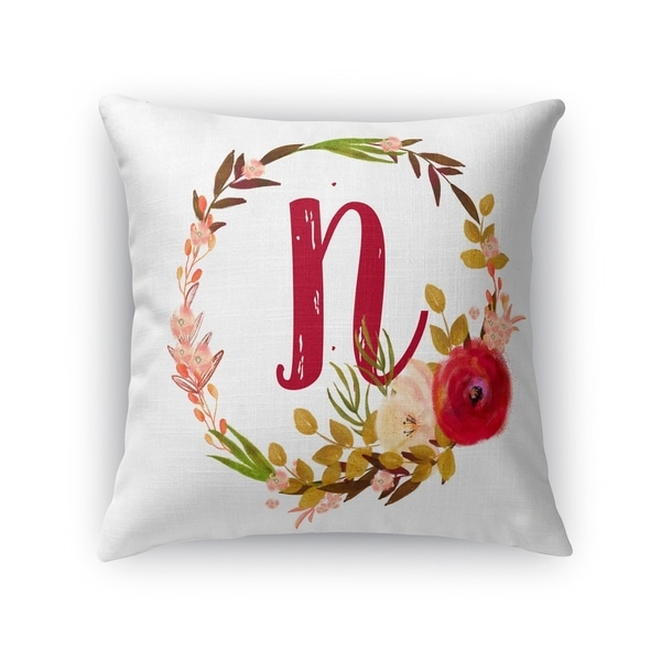 N Accent Pillow By Kavka Designs