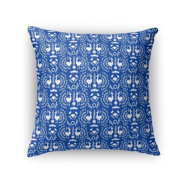 Christmas Scandinavian Blue Accent Pillow By Kavka Designs
