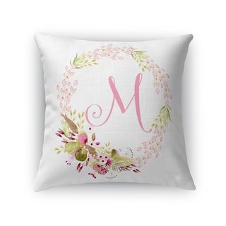 M Accent Pillow By Kavka Designs