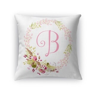B Accent Pillow By Kavka Designs