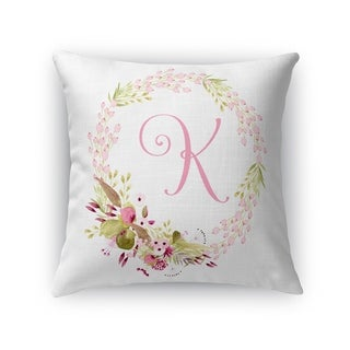 K Accent Pillow By Kavka Designs