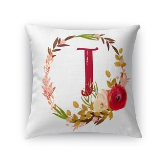 T Accent Pillow By Kavka Designs