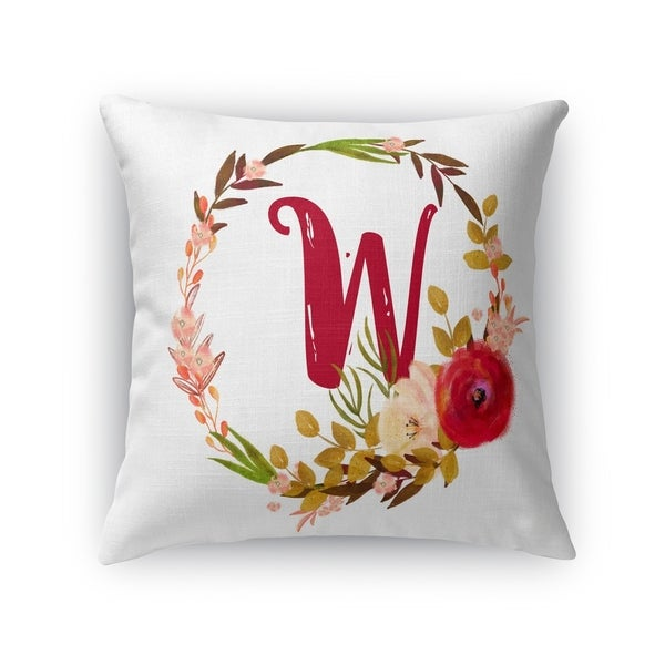 W Accent Pillow By Kavka Designs