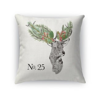 Christmas Deer Accent Pillow By Kavka Designs