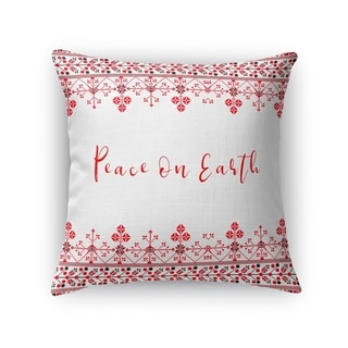 Peace On Earth Accent Pillow By Kavka Designs