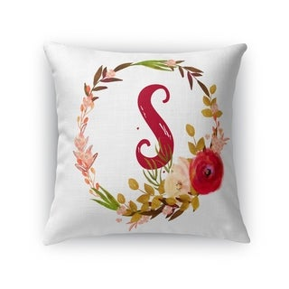 S Accent Pillow By Pip & Lulu