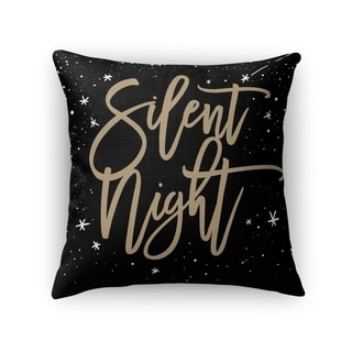 Silent Night Accent Pillow By Kavka Designs