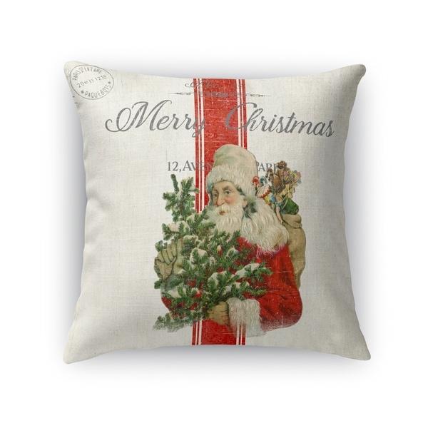 Vintage Santa Accent Pillow By Kavka Designs