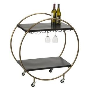 Retro Rolling Bar Cart