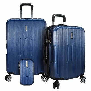 Traveler's Choice Pasadena 3pc Expandable Hardside Spinner Luggage Set (2 options available)