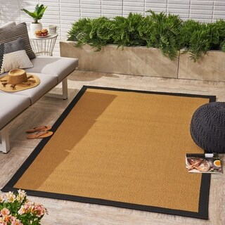 Troy Indoor/ Outdoor Border 5 x 8 / 8 x 11 Area Rug by Christopher Knight Home