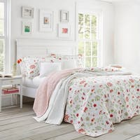 Laura Ashley Libby Quilt Set