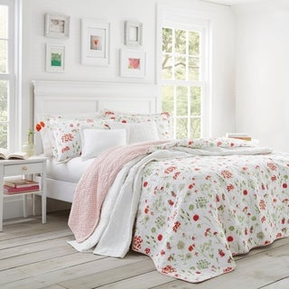 Laura Ashley Libby Quilt Set (3 options available)