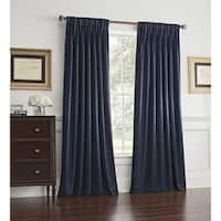 Ashton Pinch Pleat Room Darkening Window Curtain Panel