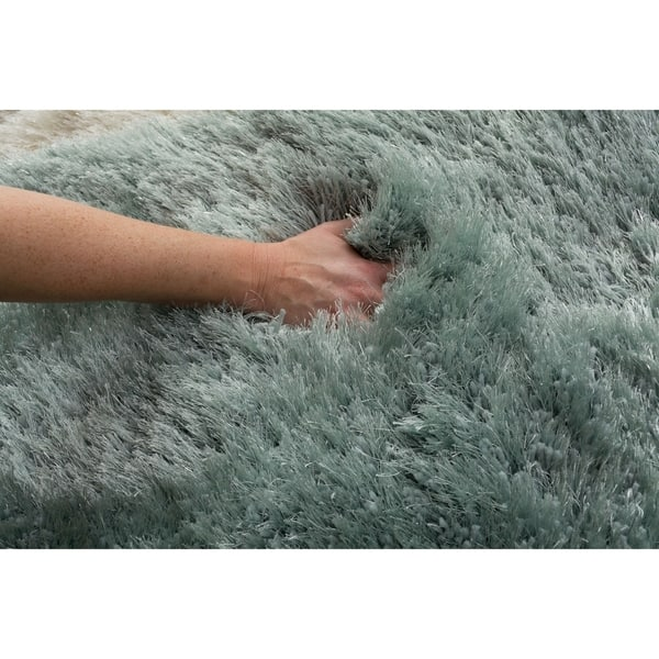 Sparkle Silver Metallic Area Rug