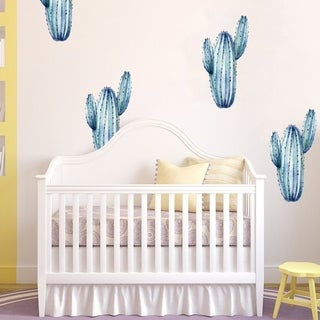 """Cactus Nature Kids Full Color Wall Decal Sticker K-1255 FRST Size 22""""x27"""""""