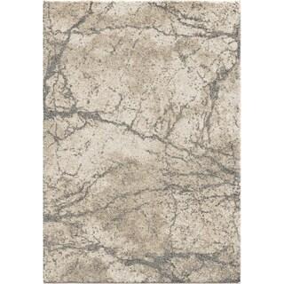 Orian Rugs Charcoal Granite Plush Shag Rug - 9' x 13'
