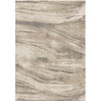 Orian Rugs Modern Sandstorm Ivory Plush Shag Rug - 9' x 13'
