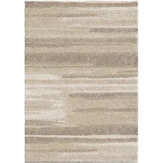 Orian Rugs Natural Watercolor Beige Plush Shag Rug - 9' x 13'
