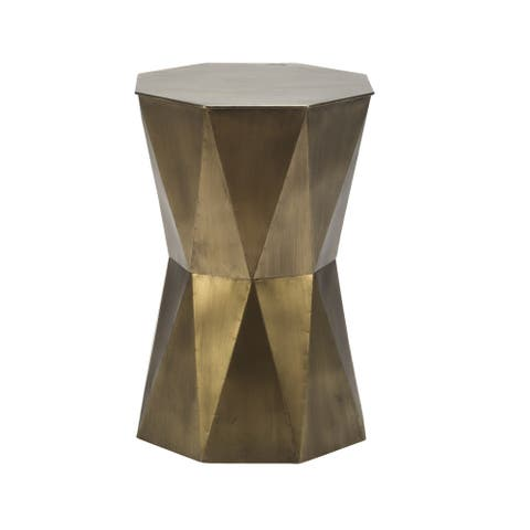Large Geometric Accent Table